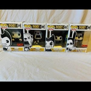 Bendy and the Ink is Funko Pop lot